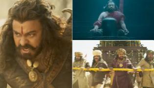 Chiranjeevi Sye Raa Telugu Movie Trailer Out - Sakshi
