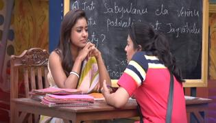 Vithika Funny Task With Housemates - Sakshi