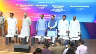 Ministry of Hydropower Advisor Vedire Sriram Book Release In Delhi - Sakshi