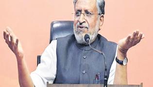 Bihar Deputy CM Sushil Modi Comments There is No Economic Slowdown  - Sakshi