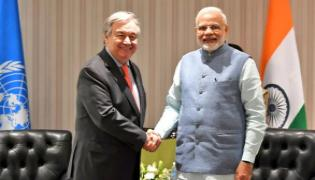 UN Praises India And Modi Government Making Fantastic Efforts For Climate Action - Sakshi