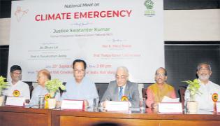 Council For Green Revolution Conference Over Climate Change - Sakshi
