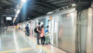 Three Km Underground Metro Rail Line From Shamshabad To Airport Terminal - Sakshi