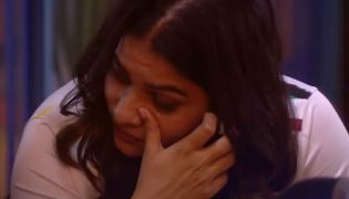 Bigg Boss 3 Telugu Punarnavi Crying In Eight Week Nomination Process - Sakshi