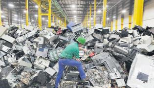 Nation Celebrates E Waste Day On Plastic Ban - Sakshi
