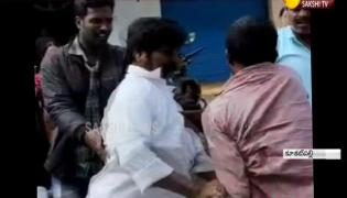 RTC Bus Hit Another Bus in Kukatpally