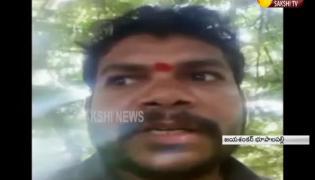 Priest Selfie Video Before Suicide in Jayashankar