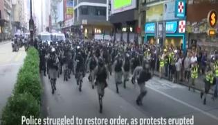 Hong Kong protests: President Xi warns of bodies smashed