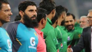 Misbah Baffled By Pakistani Players Reluctance - Sakshi