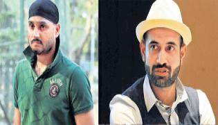 Irfan Pathan, Harbhajan Singh to debut in Tamil cinemas - Sakshi