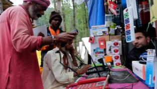 Mobile Internet Services Will Available In Kashmir On Today Onwards - Sakshi