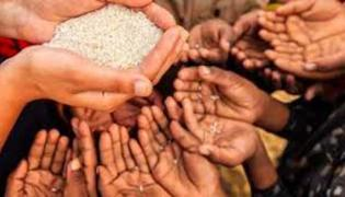 India Ranks Below Pakistan And Sri Lanka In Global Hunger Index - Sakshi