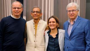 Abhijit Banerjee Got Nobel For Fight On Poverty - Sakshi