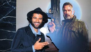 Vijay Devarakonda launch Terminator Dark Fate Trailer - Sakshi