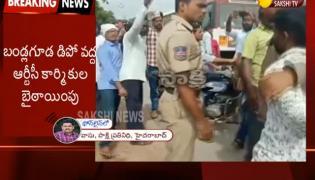 Temporary TSRTC Driver Attacked in Bandlaguda