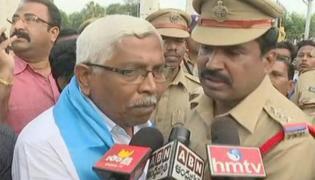 TJS Chief Kodandaram & Others Arrested