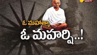 Magazine Story on Mahatama Gandhi