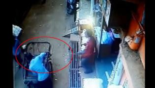 A Child Fell From A Building On A Rickshaw In Madhya Pradesh - Sakshi