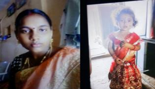 Woman Committed Suicide Along With Her Daughter In Prakasam - Sakshi