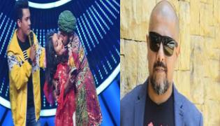 Vishal Dadlani Reacts To Man Forcibly Kissing Neha Kakkar On Indian Idol - Sakshi
