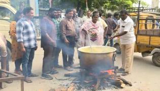 TSRTC Strike: Protests intensify on 18th Day - Sakshi