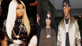 Rapper Nicki Minaj Secretly Marries Kenneth Petty - Sakshi