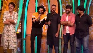 Meeku Matrame Chepta Movie Team Enter To Bigg Boss House - Sakshi