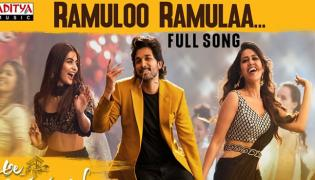 Allu Arjun Ramulo Ramula Song Halchal In Youtube - Sakshi