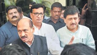 Congress, NCP, Shiv Sena have to come together to form Maharashtra govt - Sakshi