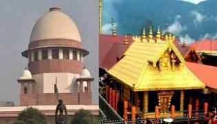 Sabarimala temple case referred to larger Supreme Court bench of 7 judges - Sakshi