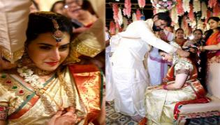 Actress Archana Gets Marriage With Jagadeesh - Sakshi