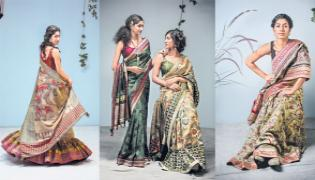 Penn Kalankari Is Famous For Its Designs At National Level - Sakshi