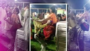 Couple Play Chair Game Viral Video - Sakshi