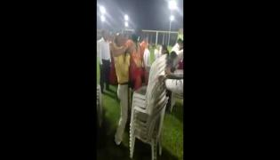 Couple Play Chair Game Viral Video- Sakshi