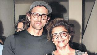 Hrithik Roshan Mother Watched Super 30 Movie 9 Times  - Sakshi