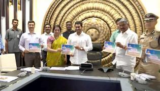 AP CM YS Jagan Inaugurated Call Centre To Control Illegal Sand