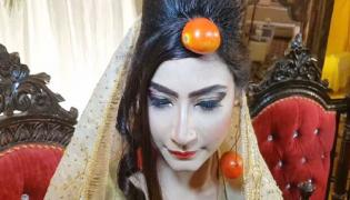 Pakistan Bride Wore Tomato Jewellery On Her Wedding Video Goes Viral - Sakshi