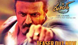 Balakrishna Ruler Movie Teaser Out - Sakshi
