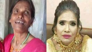 Clarity On Ranu Mondal Viral Photo Trolled Over Heavy Make Up - Sakshi