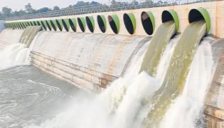 Kaleshwaram Project Pumping Started In Telangana - Sakshi