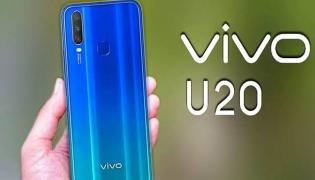 Vivo U20 with 5000mAh battery launched in India  - Sakshi