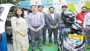Electric Vehicle Taxi Aggregator Service Rolled Out - Sakshi