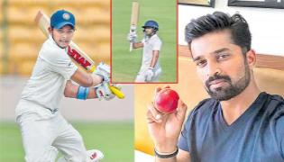 Vidarbha Has A Huge Lead Againist Andhra Ranji Match - Sakshi