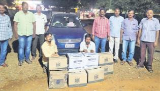 Excise Police Police Seize Illegal Liquor From Telangana In Kurnool - Sakshi