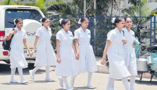 Indian Nursing Council Demands To Cancel General Nursing Course - Sakshi