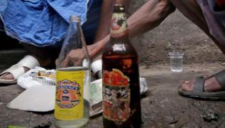 Nanded school Becomes Den of Drunkards at Night In Maharashtra - Sakshi