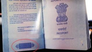 Lotus Symbol On Passports Is Part Of Security Feature - Sakshi