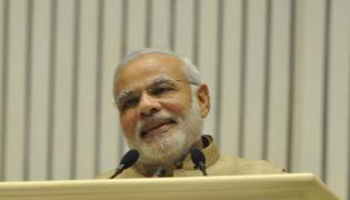 Narendra Modi Attended Meeting With Telangana BJP MPs - Sakshi