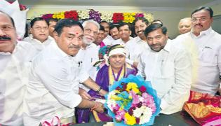 Palla Rajeshwar Reddy  Appointed As Farmer Coordination Committee Chairman - Sakshi