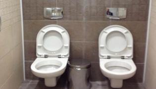 Sign About long Washroom Breaks Goes Viral - Sakshi